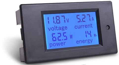 MICTUNING DC 6.5-100V Battery Monitor
