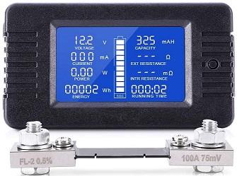 MNJ Multifunction Battery Monitor
