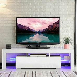 Cimiva TV Stand with LED Lights