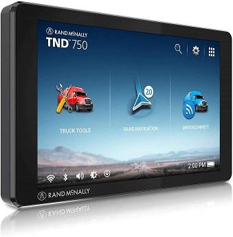 Rand McNally TND 750 GPS Navigator