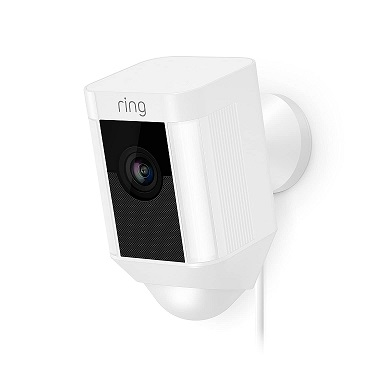 Ring Spotlight Cam Wired Ring Security Camera