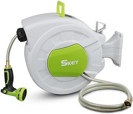 Skey Retractable Garden Hose Reel
