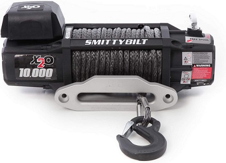 Smittybilt 10000 lbs Synthetic Rope Winch
