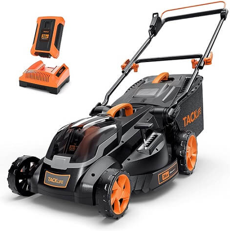 Tacklife Electric Cordless Lawn Mower