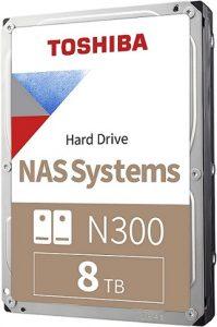 Toshiba N300 8TB NAS Internal Hard Drive