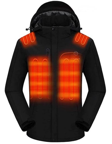 Venustas Men's Heated Jacket