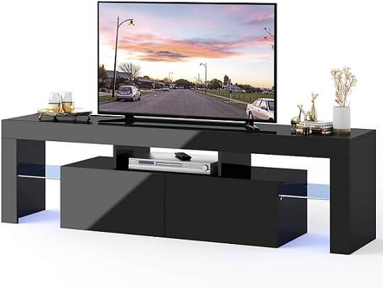 Wlive TV Stand wiht LED Light