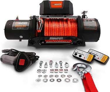 ZESUPER 9500 lbs Electric Winch