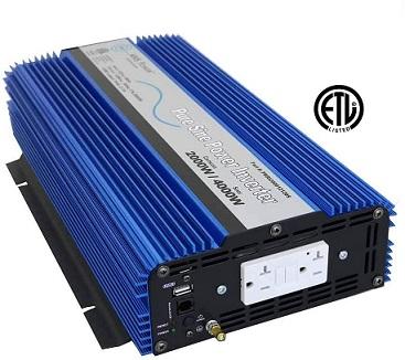 AIMS 2000W Power Inverter