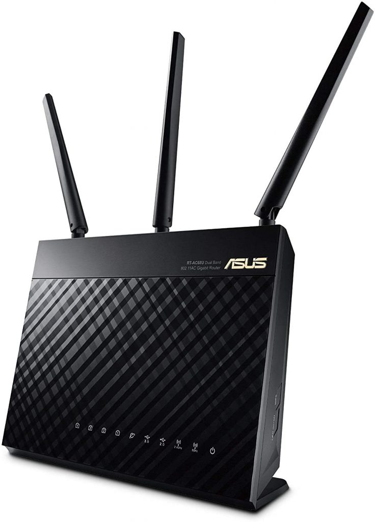 ASUS AC1900 RT-AC68U Wi-Fi Router