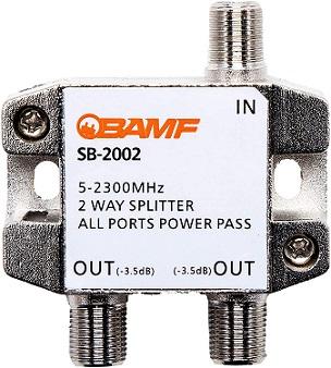 BAMF 2 Way Cable Splitter