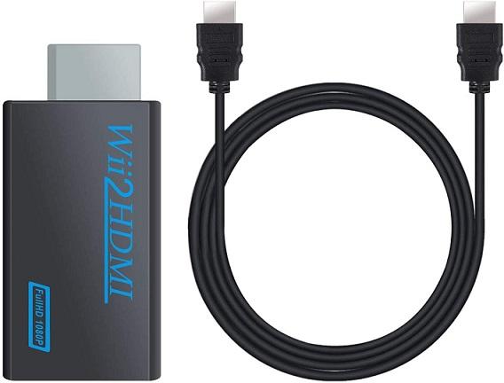 COLFULINE Wii to HDMI Converter