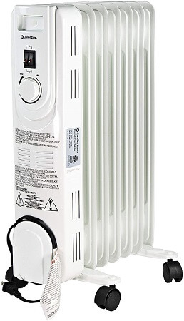 Comfort Zone Oil-Filled Electric Radiator Heater