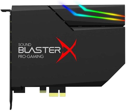 Creative Sound BlasterX sound card