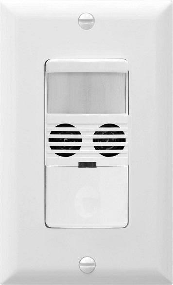 Enerlites MWOS-W Motion Sensor Light Switch