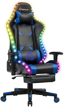 Goplus RGB Gaming Chair