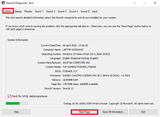 Install DirectX 12 to Optimize for Gaming