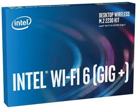 Intel Wi-Fi 6 AX200 M.2 Wi-Fi Card