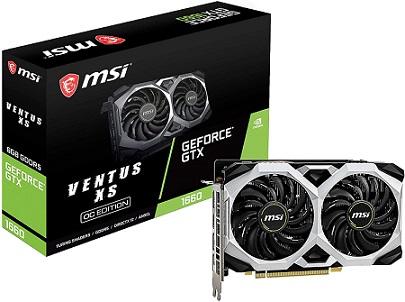 MSI GeForce GTX 1660 Graphics Card