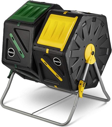 Miracle-Gro Dual Chamber Compost Bin