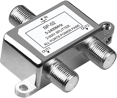 NEWCARE Digital 2 Way Cable Splitter
