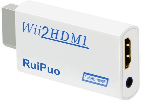 NTSC Wii to HDMI Converter