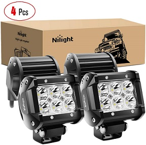 Nilight - 60001S-C 4-Inch Led Pods