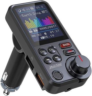Nulaxy Car Bluetooth Transmitter1