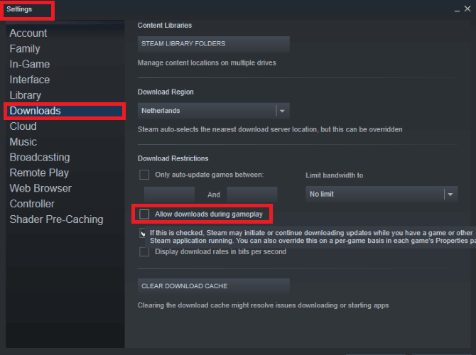 Prevent Steam Auto-Updating Games