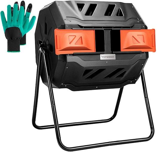 Vivosun Tumbling Rotating Compost Bin