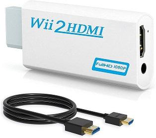 Wenter Wii to HDMI Converter