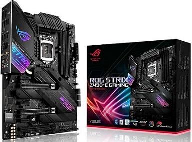 Asus ROG Strix Z490-E Gaming Z490- WiFi 6 Motherboard