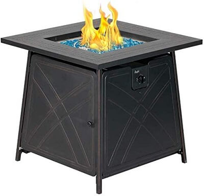 Bali Outdoors Gas Fire Pit