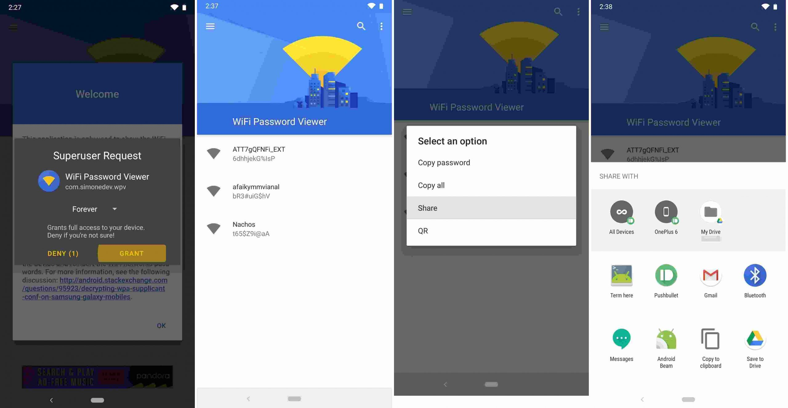 How To See WiFi Password on Android version 9 or Below Android Smartphones