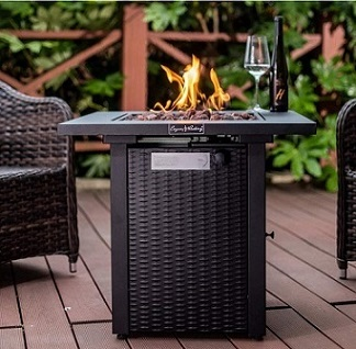 Legacy Heating Gas Fire Pit