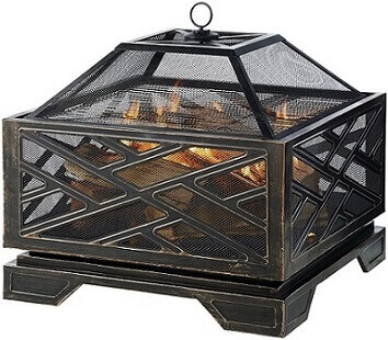 Pleasant Hearth Outdoor Fire Pit