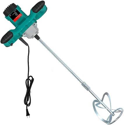 Vpment Electric Handheld Paint Cement Mortar Mixer