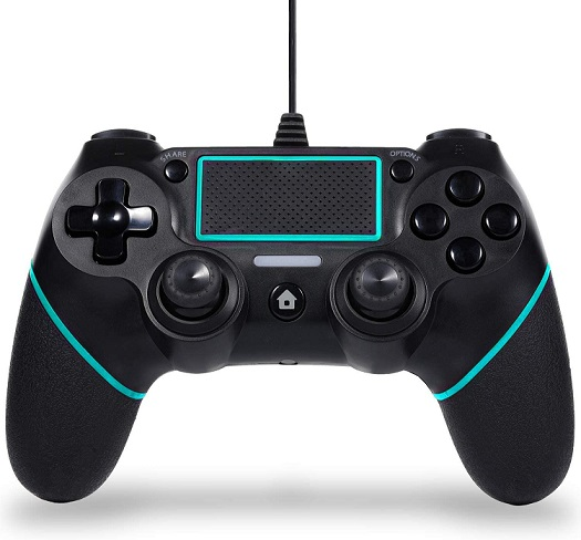 Wired Game Controller Compatible with PS-4