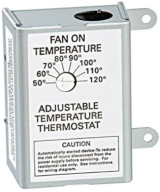 AIR VENT 58033 Single Speed Adjustable Thermostat
