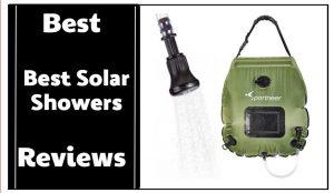 Best Solar Showers