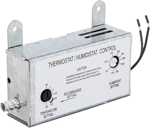 Iliving ILG-001TH Humidity and Thermostat