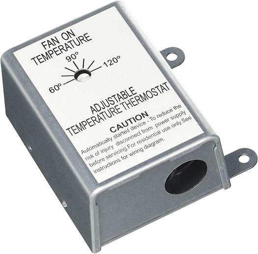 Nutone RFTH95 Attic Ventilator Replacement Thermostat