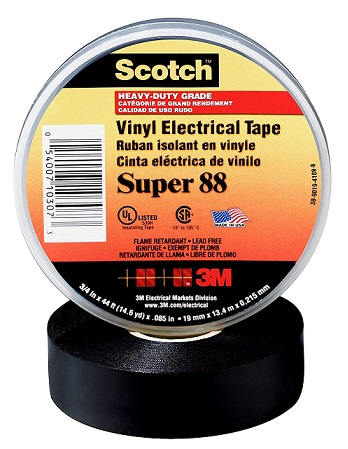 3M Scotch Vinyl Electrical Tape