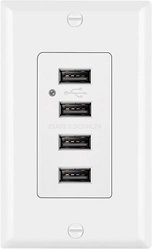 BESTTEN USB Receptacle Outlet