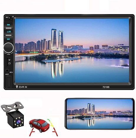 CAMECHO Double Din Car Stereo