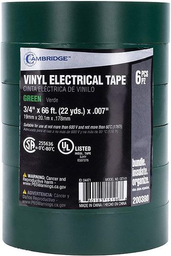Cambridge Vinyl Electrical Tape
