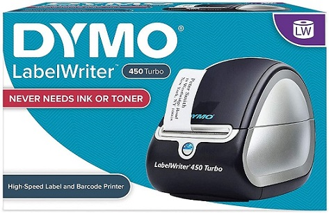 DYMO 450 Turbo Direct Thermal Label Maker