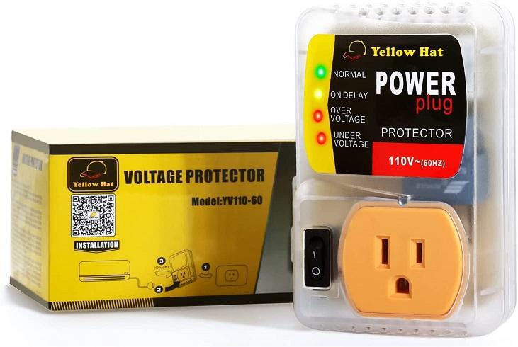 HVAC Yellow Hat Surge Protector