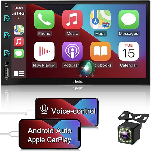Hieha Double Din Stereo Compatible