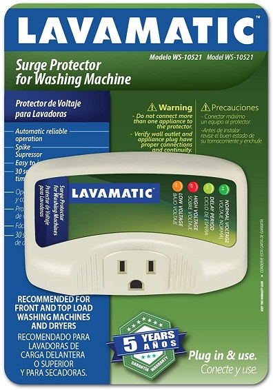 Lavamatic Electronic Surge Protector